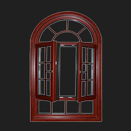Special shape window and door